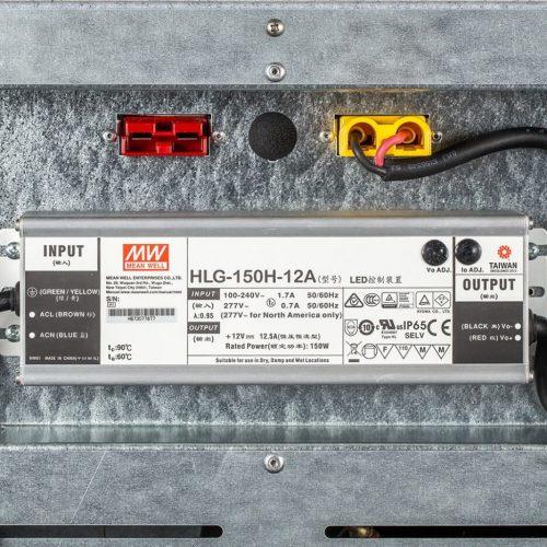 Contenitori refrigerati, trasformatore AC/DC 150w