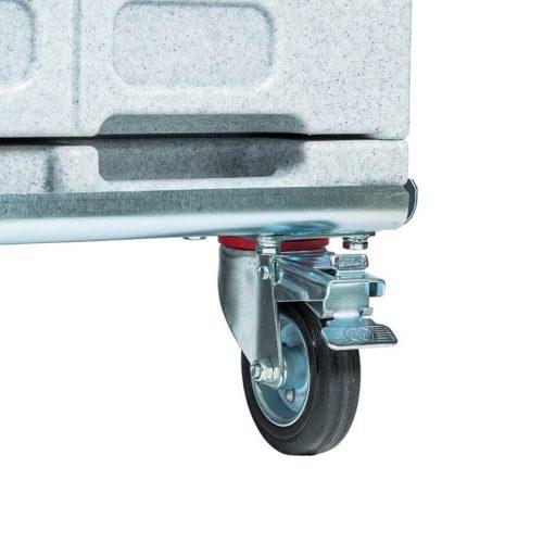 Contenitori refrigerati, supporto trolley