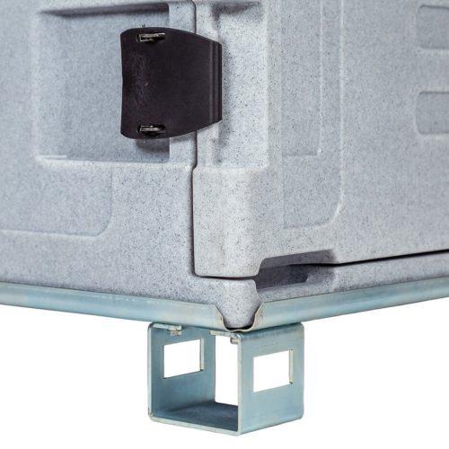 Contenitori refrigerati, base supporto pallet