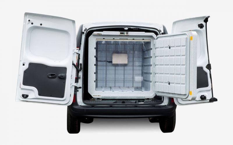 Dimensione contenitore refrigerato per veicolo commerciale