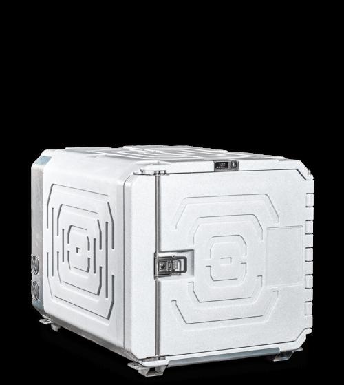 Contenitore isotermico refrigerato da 720 l