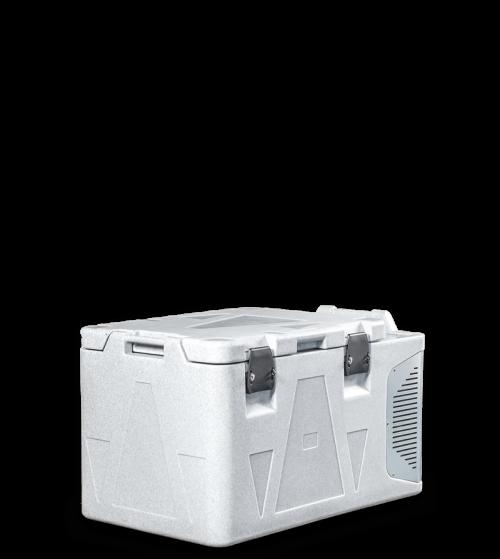 Contenitore isotermico refrigerato da 82 l